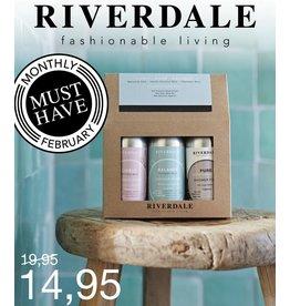 Riverdale GIFTSET SHOWERFOAM 3X75ML
