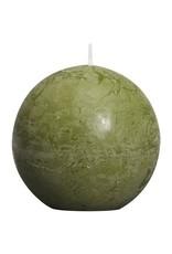 Bolsius Bolsius bolkaars rustiek 80mm olijf