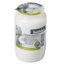 Bolsius Bolsius gedenklicht nr3 wit