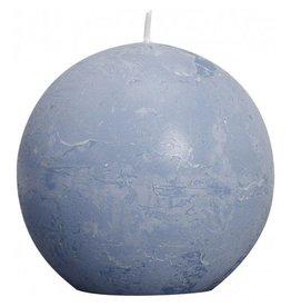 Bolsius Bolsius bolkaars rustiek 80mm ijsblauw