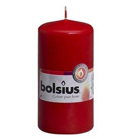 Bolsius Bolsius stompkaars 120x60mm rood