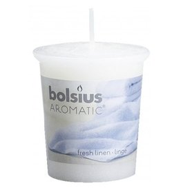 Bolsius Bolsius geurkaars 53x45mm fresh linen