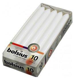 Bolsius Bolsius dinerkaars 230x20mm wit 10st