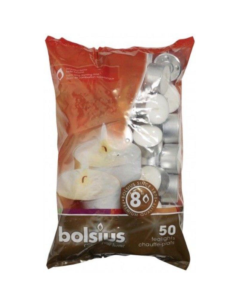 Bolsius Bolsius bolsius theelicht 8uur wit 50st