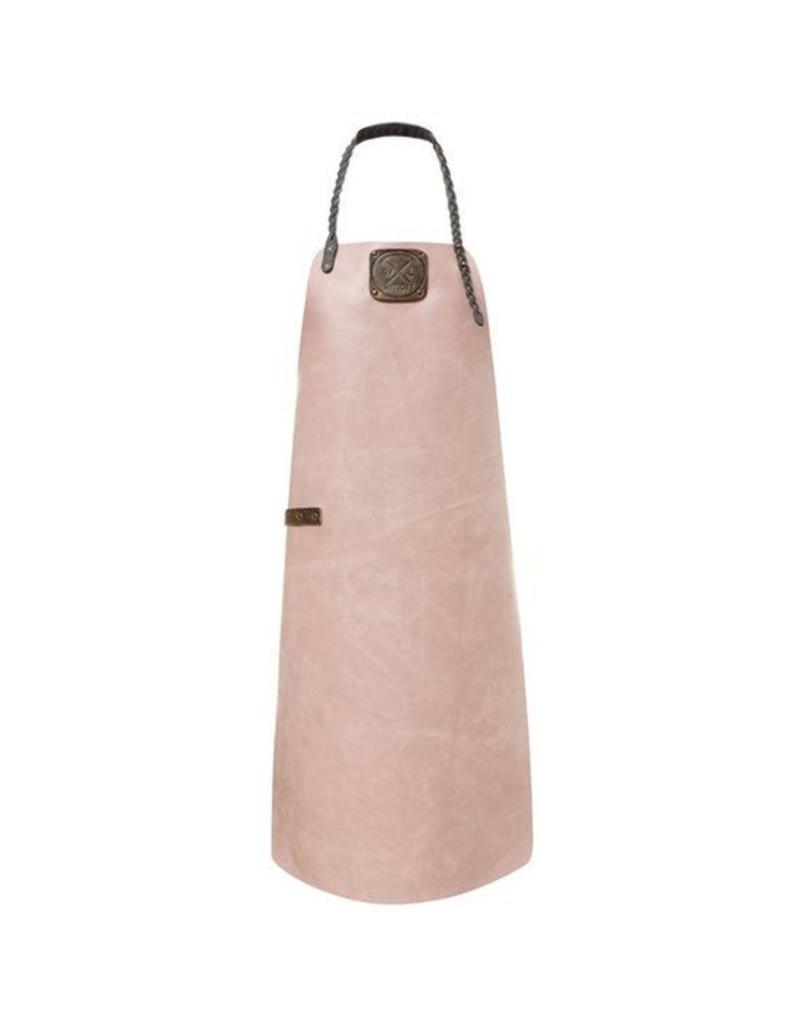 Witloft Witloft Leren schort - pink/grey Maat M (dames)