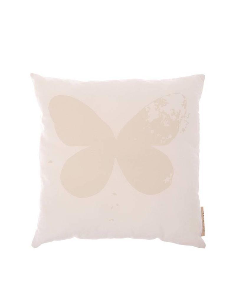 Riverdale Kussen Butterfly 45X45Cm Wit