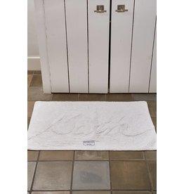 Riviera Maison Bath Mat 'Bath' pure white
