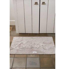 Riviera Maison Bath Mat 'Bath' stone