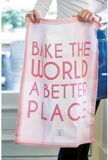 Riviera Maison Tea Towel Bake The World