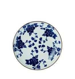 Riverdale Bord Floral blue 18cm