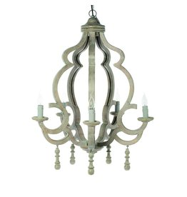 Riverdale Hanglamp Riom naturel 92cm