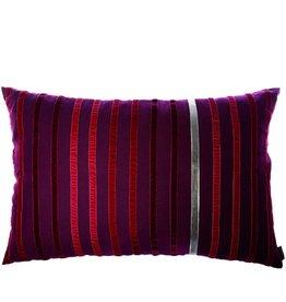 Riverdale Kussen Stripes burgundy 50x70cm