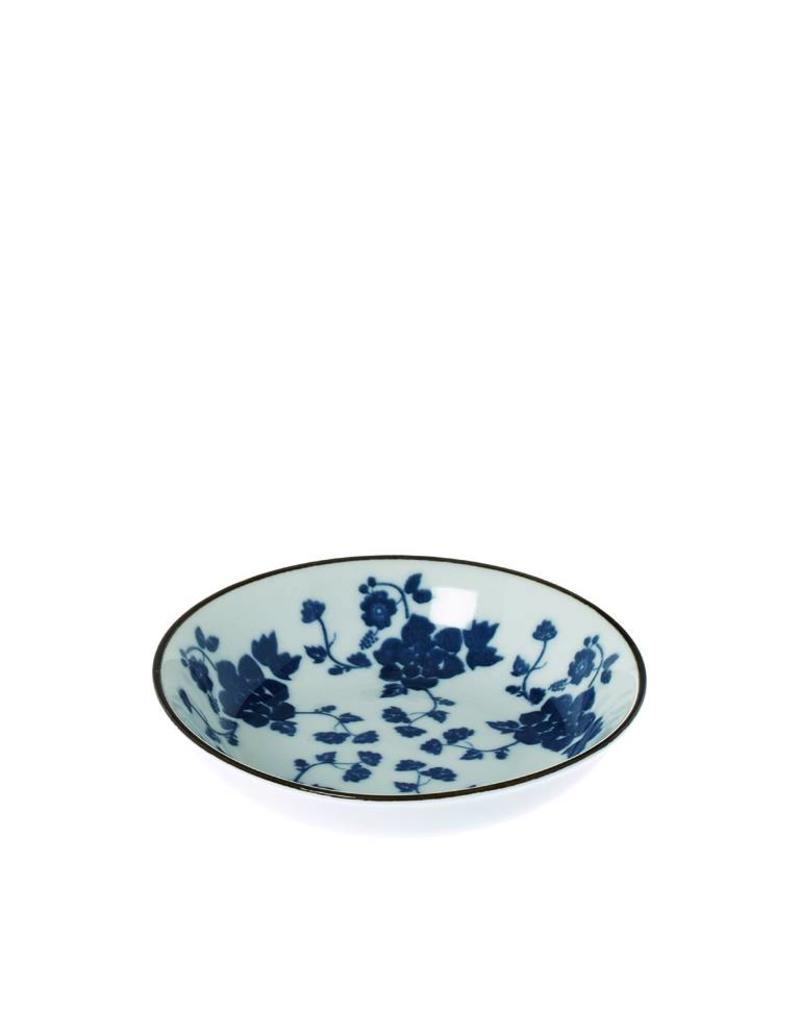 Riverdale Schaaltje Floral blue 10cm