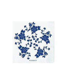 Riverdale Servet Romantic blauw 33cm