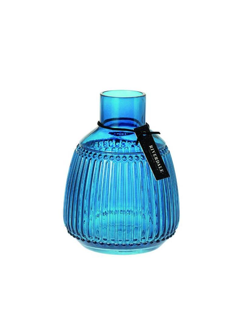 Riverdale Vaas Bolton blauw 20cm