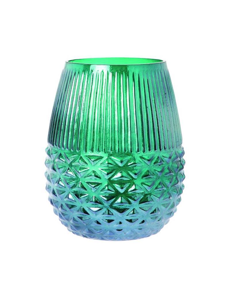 Riverdale Windlicht Orly emerald 25cm AB
