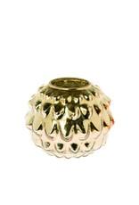 Riverdale Windlicht Vintage goud 17cm