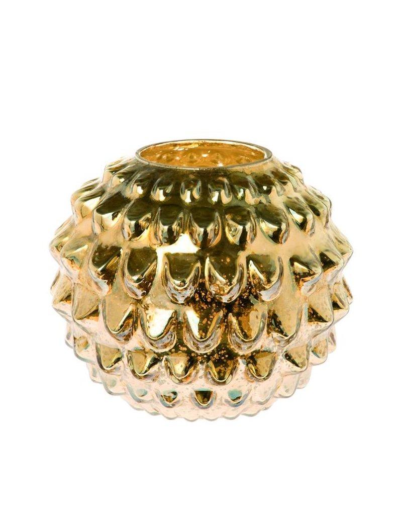 Riverdale Windlicht Vintage goud 27cm