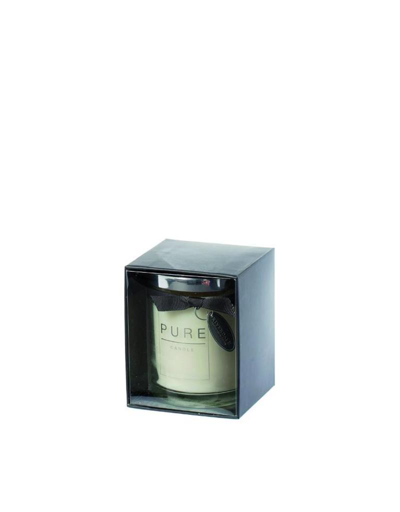 Riverdale Geurkaars Pure d.grijs 10cm AB