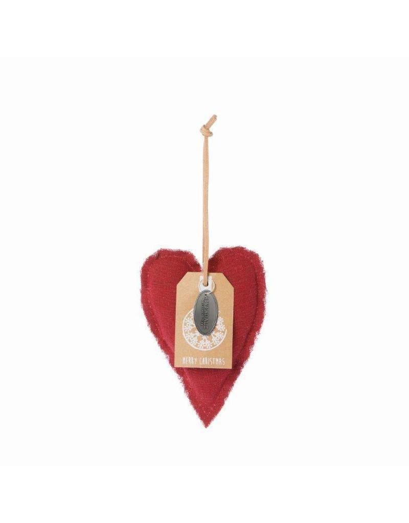 Riverdale Hanger Heart bordeaux 12cm