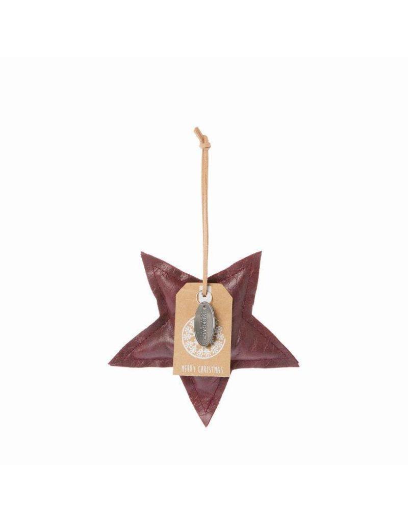 Riverdale Hanger Star burgundy 13cm