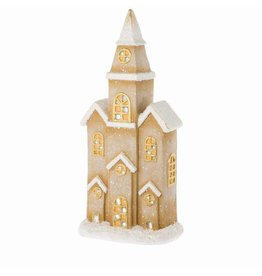 Riverdale Led-licht Church bruin 61cm