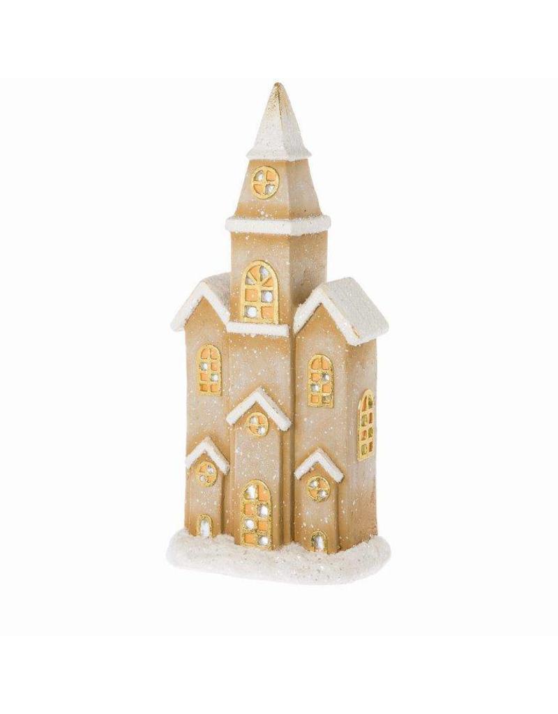 Riverdale Led-licht Church bruin 61cm
