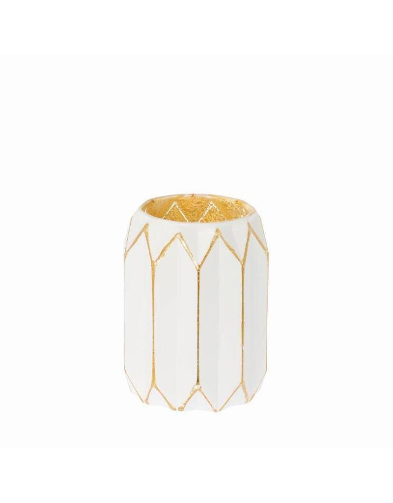 Riverdale Sfeerlicht Glow wit/goud 9cm