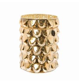 Riverdale Windlicht Antique goud 25cm AB