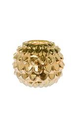 Riverdale Windlicht Vintage goud 22cm