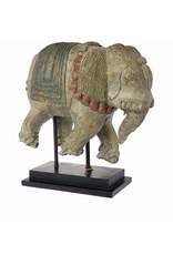 Riverdale Deco olifant Globe antiek 47cm