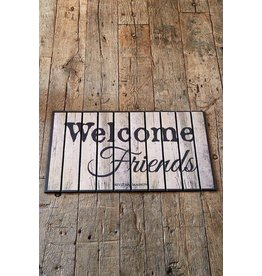 Riviera Maison Doormat Flocking Welcome Friends