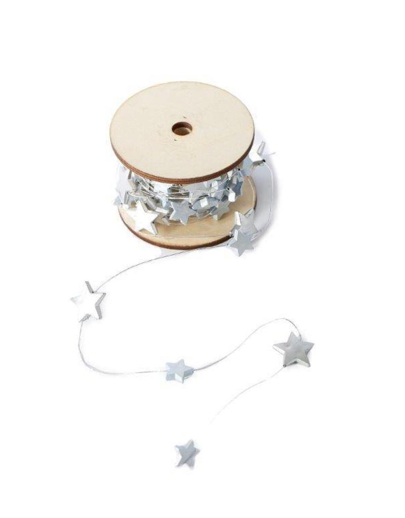 Riviera Maison Stars Decoration Spool silver