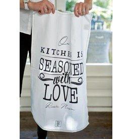 Riviera Maison Seasoned With Love Tea Towel