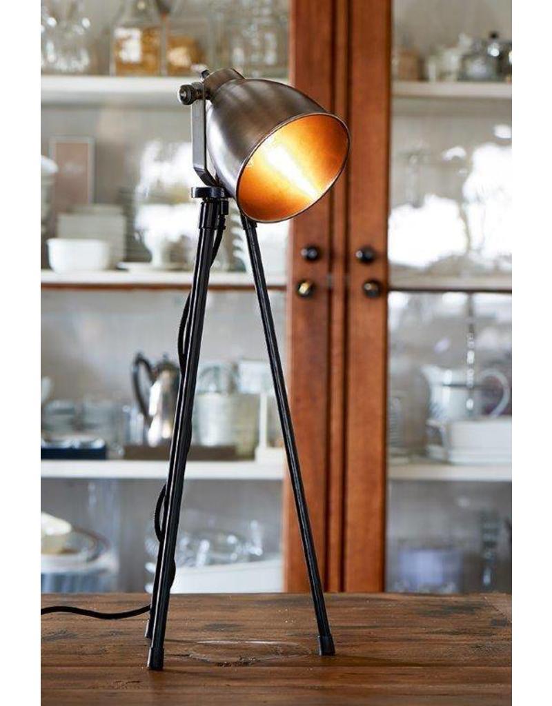 Riviera Maison Bricklane Table Lamp steel