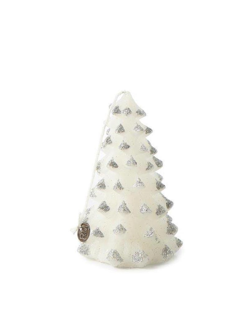 Riviera Maison Christmas Tree Candle silver S
