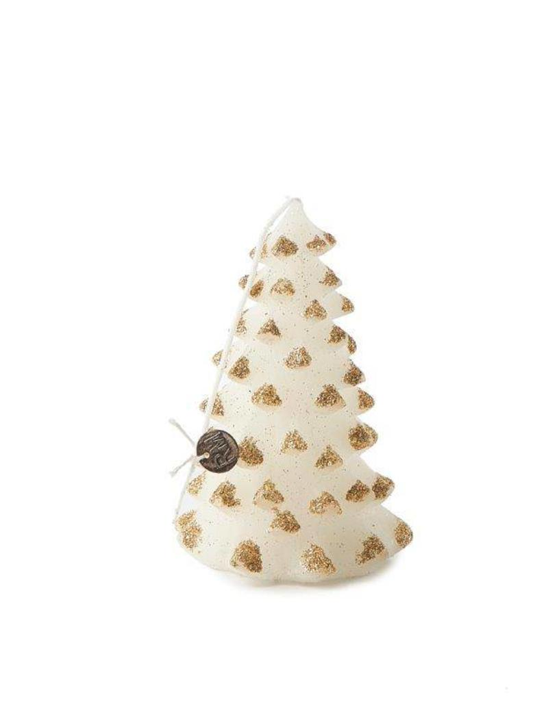 Riviera Maison Christmas Tree Candle gold S