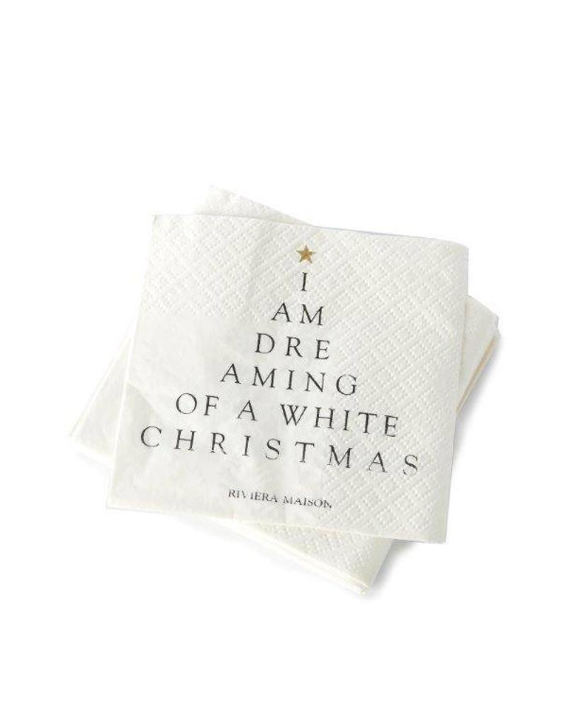 Riviera Maison Paper Napkin I Am Dreaming Of..