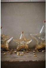 Riviera Maison Big Star Decoration Bottle gold S