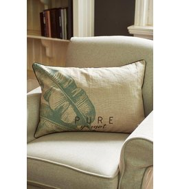 Riviera Maison Pure Banana Leaf Pillow Cover 65x45 (zonder vulling)