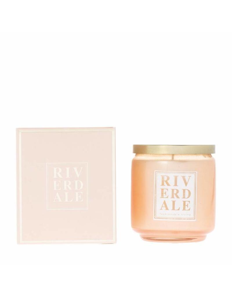 Riverdale Kaarsenpot Vibes roze 10cm excl.