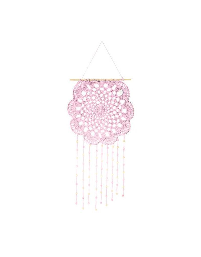 Riverdale Dromenvanger Flower roze 70cm