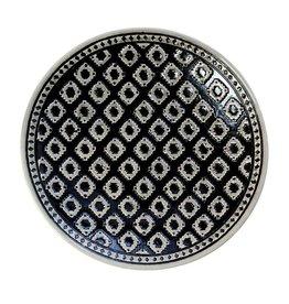 Riverdale Schaal Ethnic zwart 36cm
