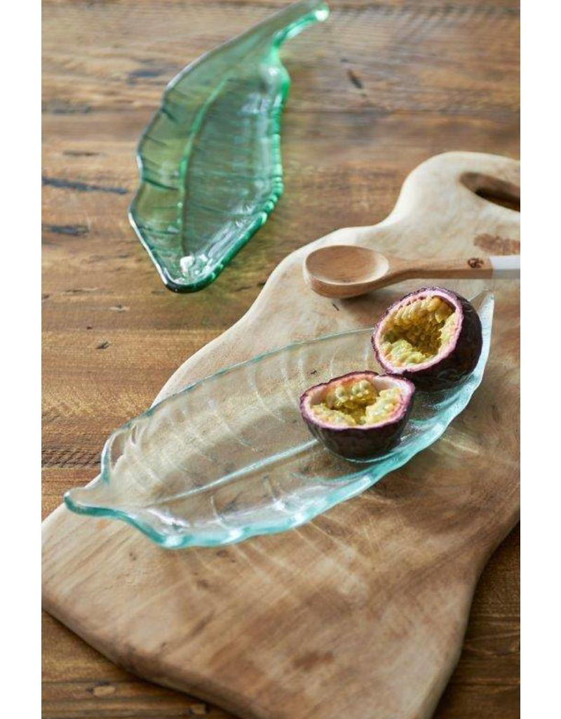 Riviera Maison Luscious Leaf Plate clear