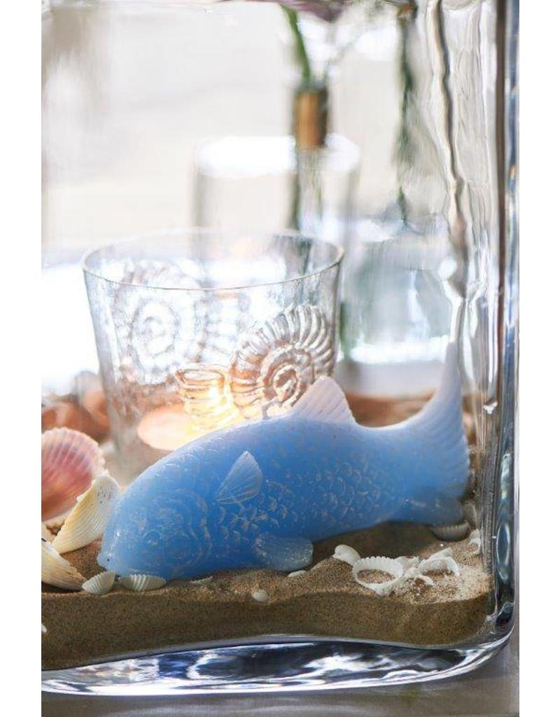 Riviera Maison Lucky Fish Candle blue