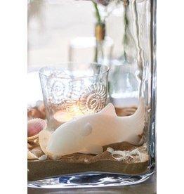 Riviera Maison Lucky Fish Candle white