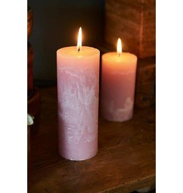 Riviera Maison Rustic Candle pink 7x18