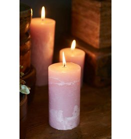 Riviera Maison Rustic Candle pink 7 x 13