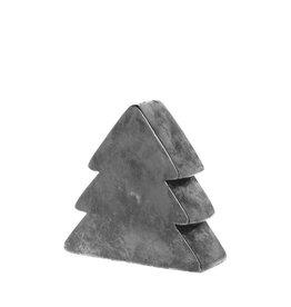 Riverdale Kerstboom Jolly ant. zilver 26cm