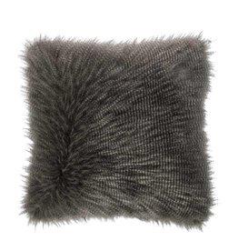 Riverdale Kussen Furry grijs 50x50cm